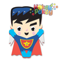 Picture of Krafty Kids Kit: DIY Foam Friends Craft Kit - Super Boy (CK192-B)