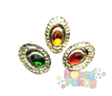 Picture of Small Peacock Gems - Festive Assortment - 10-14mm (12 pc.) (AG-SP1)