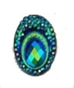 Picture of Big Peacock Gems - Deep Green - 13x18mm (20pk)