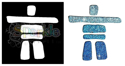 Picture of Inukshuk - Sparkle Stencil (1pc)