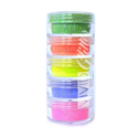 Picture of Vivid Glitter Stackable Loose Glitter - Electric Rainbow 5pc (10g)