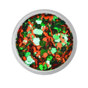 Picture of Vivid Glitter Loose Glitter - Triumphant - Orange & Green Gameday  (25g)