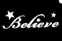 Picture of Believe - (1pc)