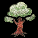 Picture of Tree - Sparkle Stencil (1pc)