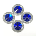 Picture of Double Round Gems - Royal Blue - 20mm (4 pc.) (SG-DRRB)