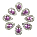 Picture of Double Teardrop Gems - Purple - 13x18mm (8 pc.) (SG-DTP)