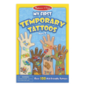 Picture of Melissa & Doug My First Temporary Tattoos: Adventure, Creatures, Sports, and More