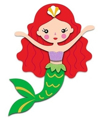 Picture of Krafty Kids Kit: DIY Foam-Fun Character - Mermaid (CK173A)