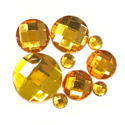 Picture of Round Gems - Yellow - 5 to 20mm (9 pc) (SG-RY)