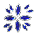 Picture of Double Pointed Eye Gems - Blue - 6x14mm & 10x25mm (12 pc.) (AG-DPEB)