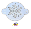 Picture of TAP 098 Face Painting Stencil - Full Henna Fancy Flower