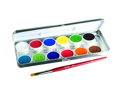 Picture of Ben Nye MagiCake Aqua Paints Palette - 12 Refillable colors (CFK-12)