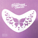 Picture of Art Factory Boomerang Stencil - Butterfly (B030)