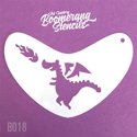 Picture of Art Factory Boomerang Stencil - Cute Dragon (B018)