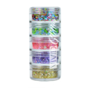 Picture of Vivid Glitter Stackable Loose Glitter - Festivity 5pc (10g)