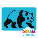 Picture of Panda Glitter Tattoo Stencil - HP (5pc pack)