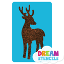 Picture of Deer Glitter Tattoo Stencil - HP (5pc pack)