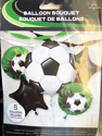 Picture of Balloon Bouquet - Goal Getter Soccer Foil Balloons (5 pc)