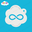 Picture of Infinity Symbol - Dream Stencil - 10
