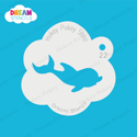 Picture of Baby Dolphin - Dream Stencil - 22