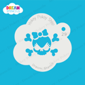 Picture of Cute Skull - Dream Stencil - 29