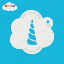 Picture of Unicorn Horn - Dream Stencil - 43