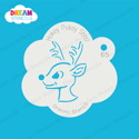 Picture of Rudolph Head - Dream Stencil - 65