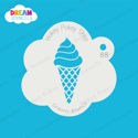 Picture of Ice Cream - Dream Stencil - 88