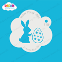 Picture of Easter Bunny with Egg - Dream Stencil - 115