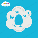 Picture of Easter Egg with Butterflies - Dream Stencil - 113