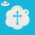Picture of Cross  - Dream Stencil - 110