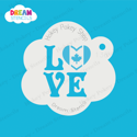 Picture of Love Canada - Dream Stencil - 136