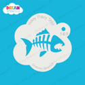 Picture of Fish Skeleton - Dream Stencil - 161