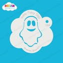 Picture of Friendly Ghost - Dream Stencil - 189