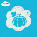 Picture of Pumpkin with Leaf - Dream Stencil - 202
