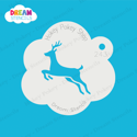 Picture of Running Deer - Dream Stencil - 243