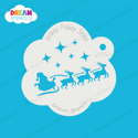 Picture of Santa's Sleigh - Dream Stencil - 246