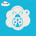 Picture of Lady Bug Dream Stencil - 291