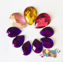 Picture of Teardrop Gems - Princess Set - (10mm X 13mm -13mm X 18mm (9 pc.) (AG-T3)